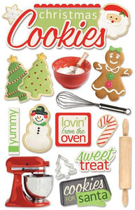 Christmas Cookies 3D Sticker