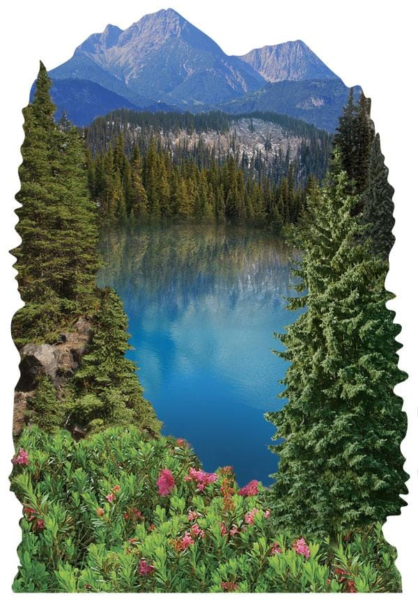 Moutain Lake 3D Sticker
