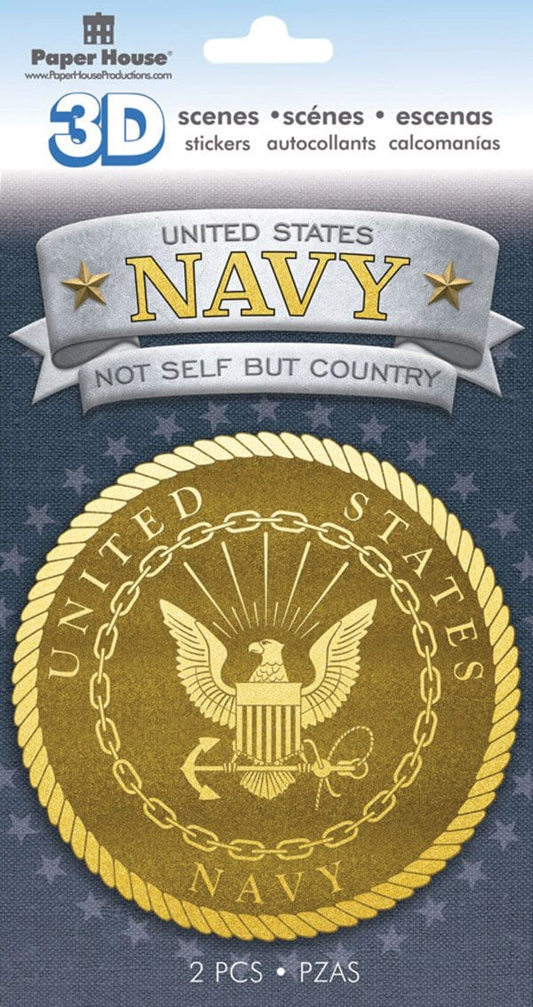 United States Navy Emblem 3D Sticker