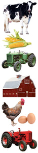 farm 3d sticker