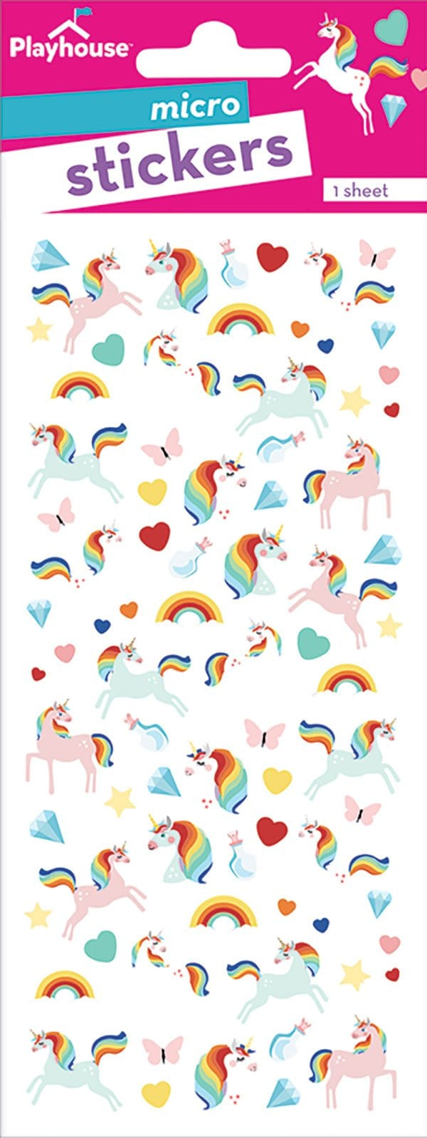 Unicorn Micro Stickers