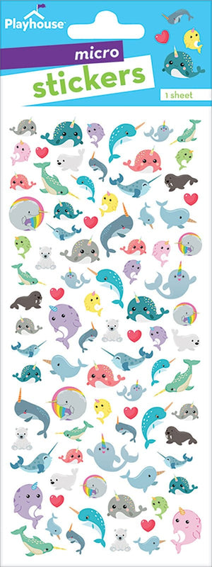 Narwhals Micro Stickers
