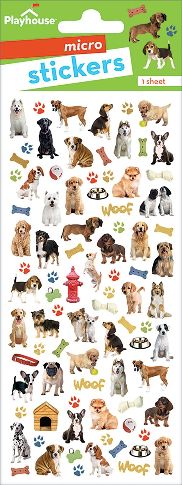 dogs micro stickers
