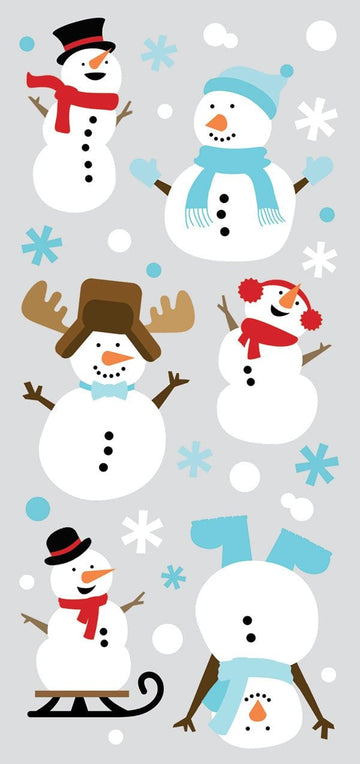 PHP Snowmen Stickers