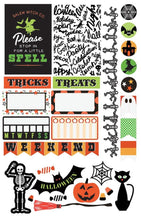 Load image into Gallery viewer, Halloween Planner Stickers