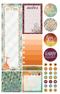 Autumn Woods Planner Stickers