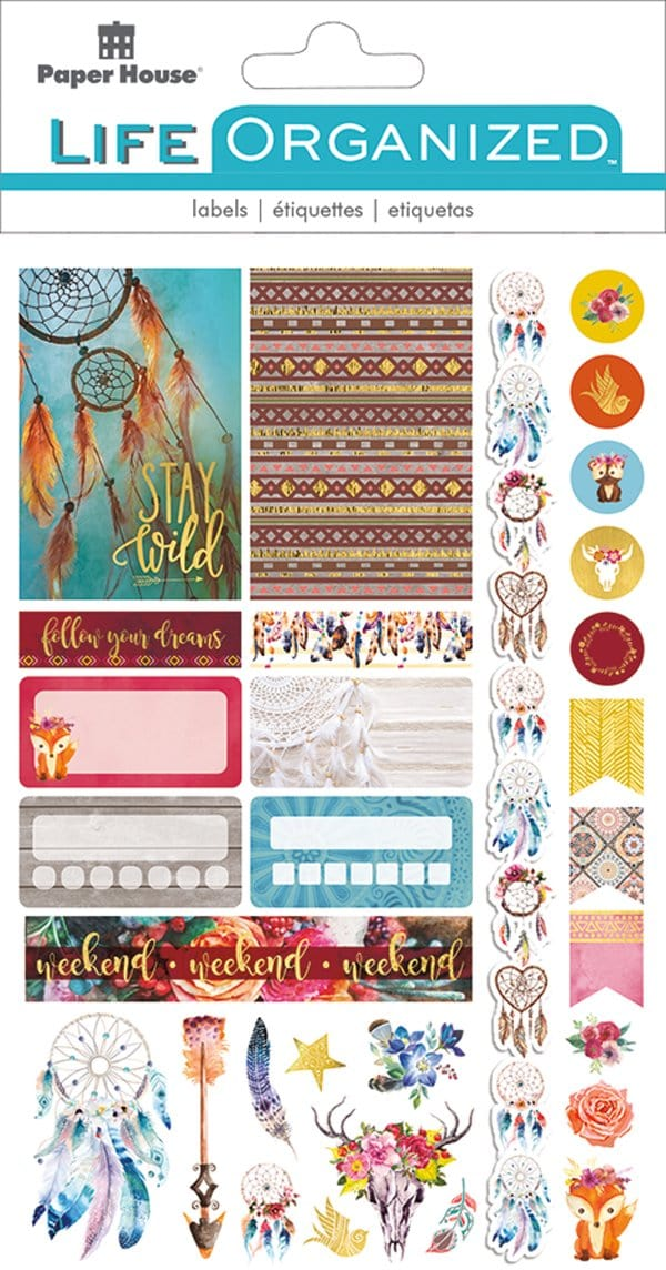 Free Spirit Planner Stickers