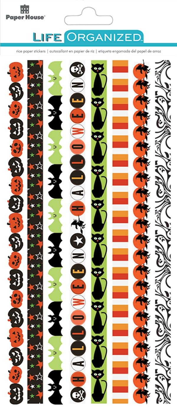 Wicked Good Rice Paper Borders