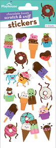 Chocolate Treats Scratch and Sniff Stickers
