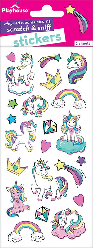Unicorn Scratch and Sniff Stickers