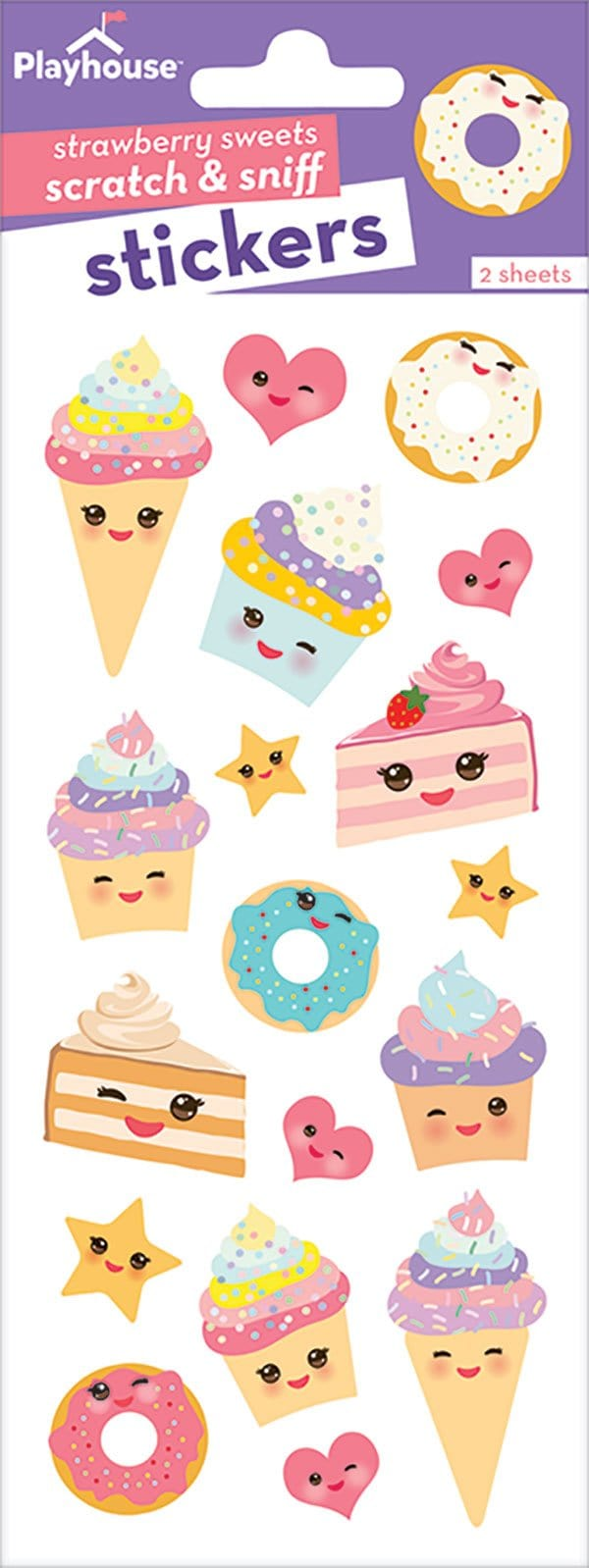 Kawaii Sweets Scratch and Sniff Stickers