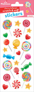 Lollipops Scratch and Sniff Stickers