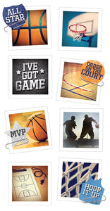 basketball snapshot sticker