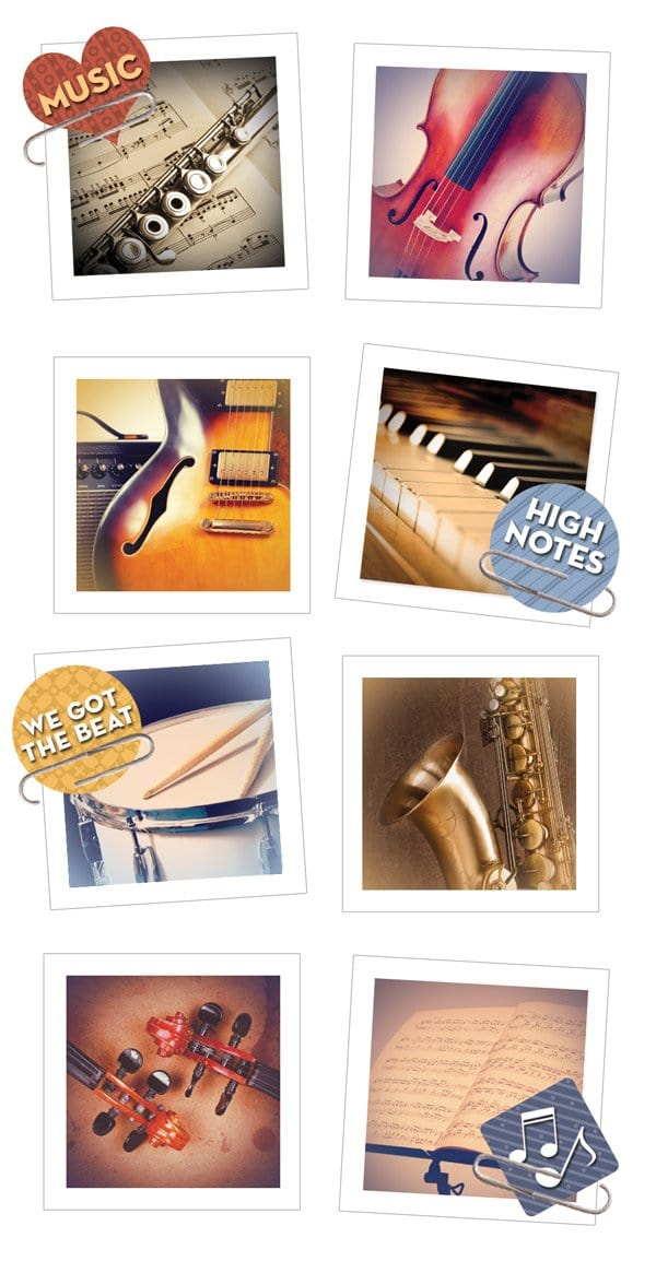 Music Snapshot Sticker