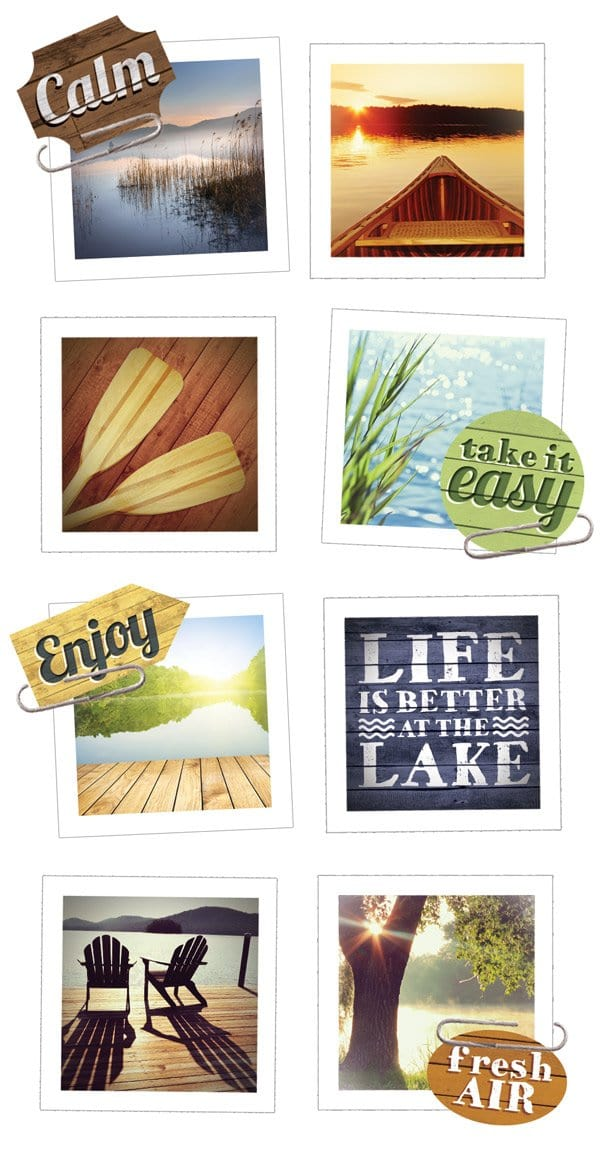 Lakeshore Snapshot Sticker