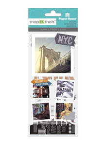 New York City Snapshot Sticker