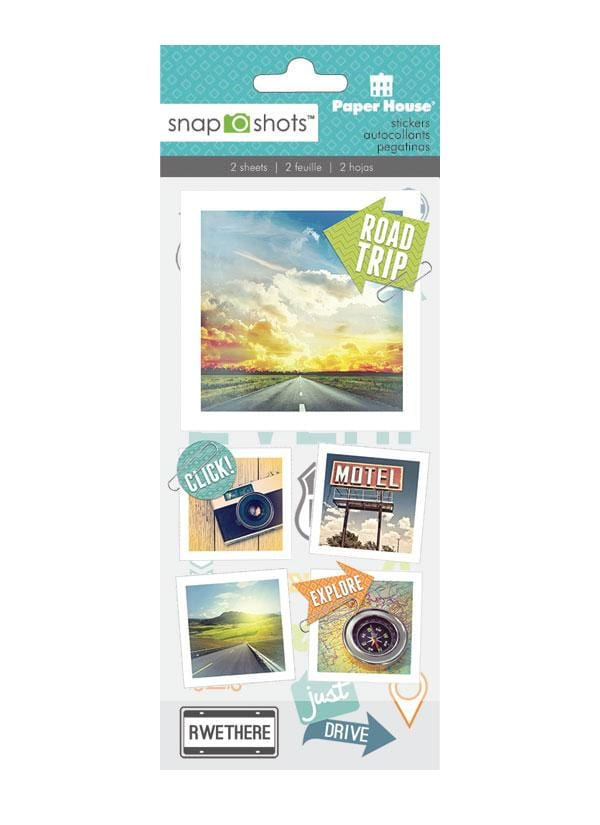 Road Trip Snapshot Sticker