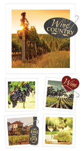 Wine Country Snapshot Sticker
