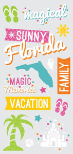 Florida snapshot sticker