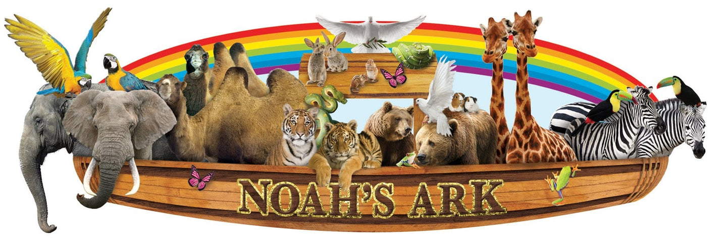Noahs Ark 3D Title sticker