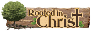 Rooted in Christ 3D Sticker