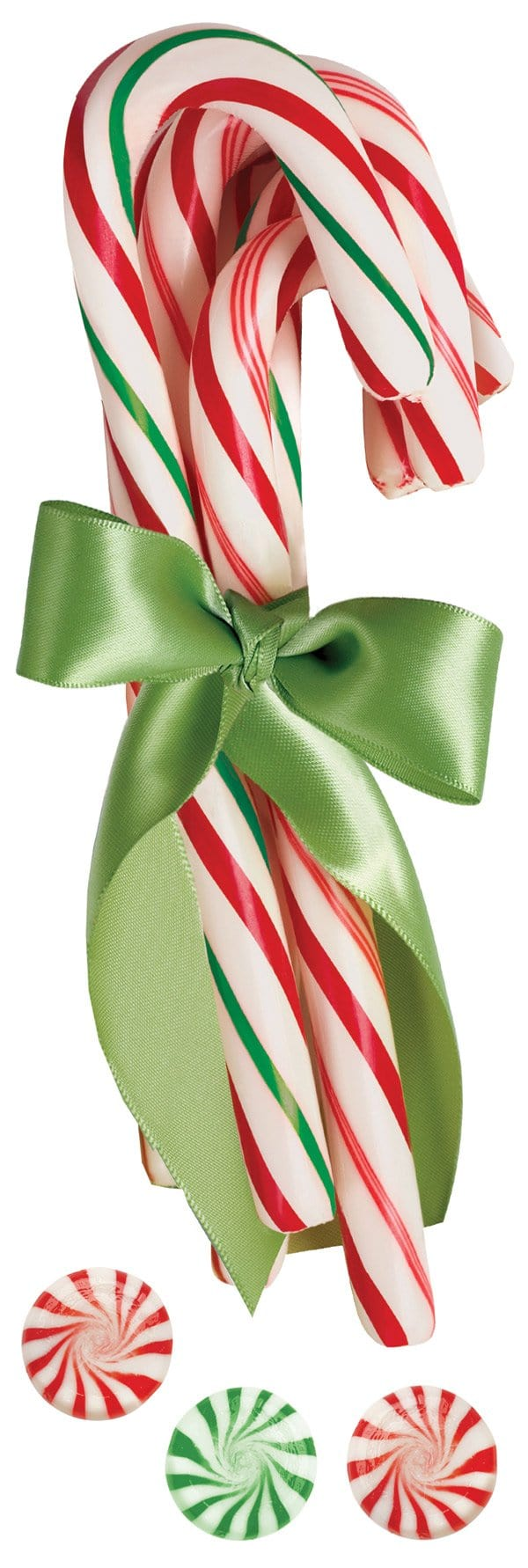 Candy Cane 3D Title sticker