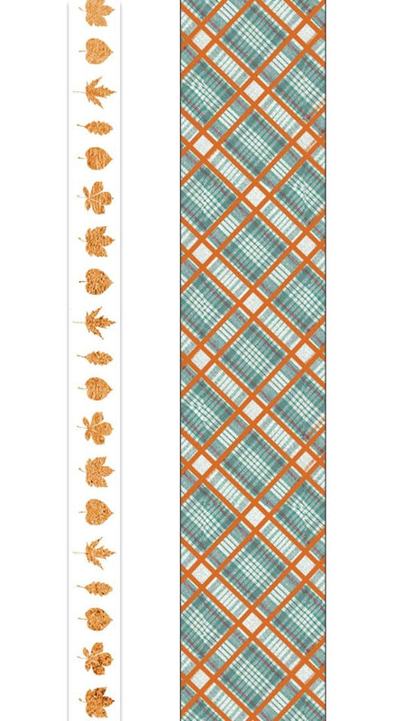 Autumn Woods Washi Tape Set