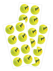 "Tennis 2"" Stickers"