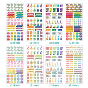 Ultimate Functional Planner Sticker Bundle
