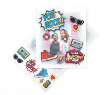 Load image into Gallery viewer, HP Moment Makers You Rock 3D Sticker Frame