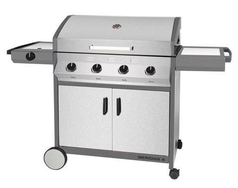 Cadac Meridian Stainless Steel 4 Burner BBQ