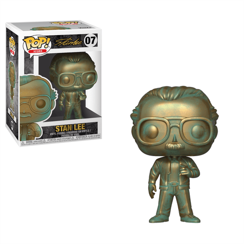 POP STAN LEE PATINA VINYL FIG