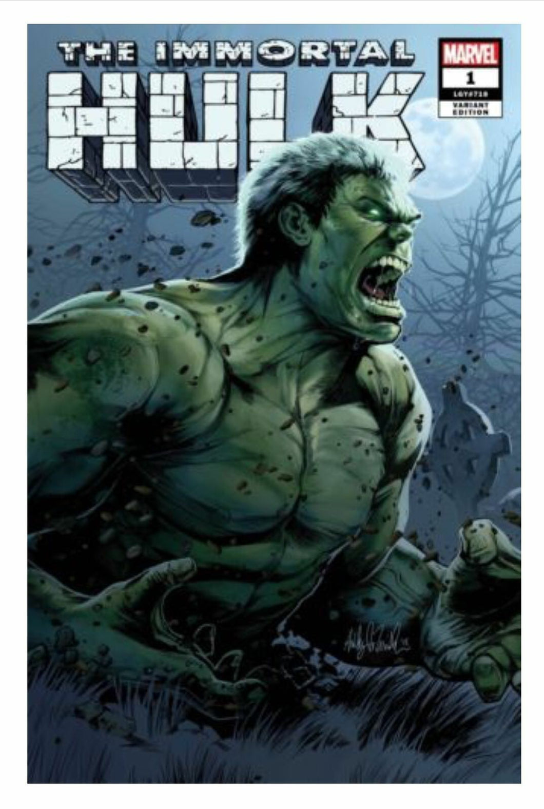 Immortal Hulk #1 Ashley Witter Exclusive