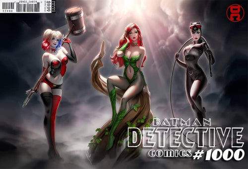 DETECTIVE COMICS #1000 - WARREN LOUW EXCLUSIVE