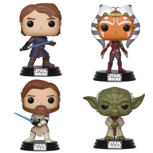 FUNKO POP STAR WARS: CLONE WARS FIGURES
