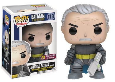 POP DC HEROES DKR UNMASKED ARMORED BATMAN PX VINYL FIG