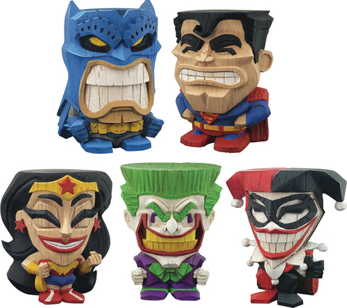 DC TEEKEEZ VINYL FIG SER1 12PC DISP (C: 1-1-2)