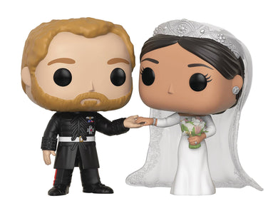 POP ROYALS ROYAL W2 DUKE & DUCHESS SUSSEX VIN FIG 2PK