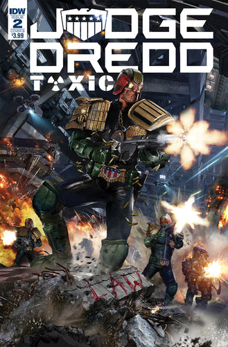JUDGE DREDD TOXIC #2 CVR B GALLAGHER