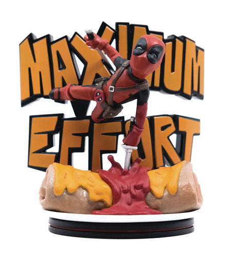 DEADPOOL MAXIMUM EFFORT Q-FIG MAX DIORAMA (C: 1-1-2)