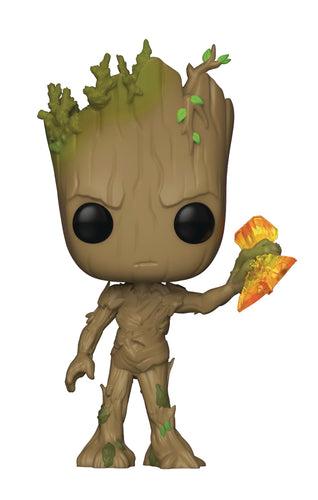 POP MARVEL INFINITY WAR S2 - STORMBREAKER GROOT VINYL FIG