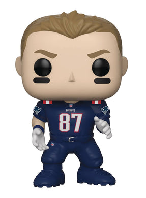 POP NFL PATRIOTS ROB GRONKOWSKI (COLOR RUSH) VINYL FIGURE