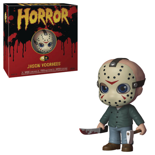 FUNKO 5 STAR HORROR JASON VOORHEES VINYL FIGURE