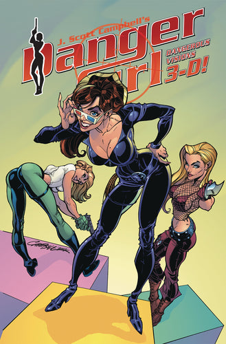 DANGER GIRL DANGEROUS VISIONS 3-D (C: 0-1-2)