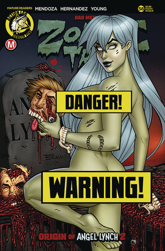 ZOMBIE TRAMP ONGOING #58 CVR D MCKAY RISQUE LTD ED (MR)