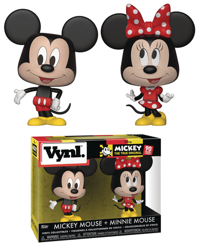 VYNL DISNEY MICKEY MOUSE & MINNIE MOUSE 2PK (C: 1-1-2)