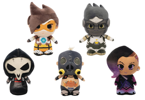 SUPERCUTE PLUSH OVERWATCH 9PC PLUSH DISP (Net) (C: 1-1-2)
