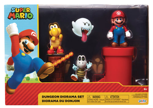 NINTENDO 2-1/2IN DUNGEON DIORAMA SET CS (Net) (C: 1-1-2)