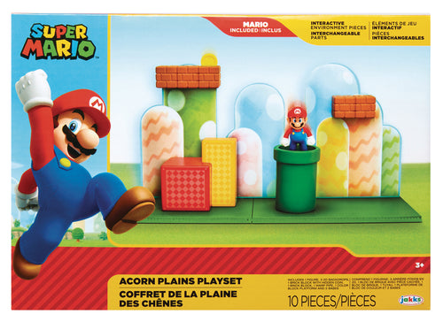 NINTENDO 2-1/2IN FIGURE ACORN PLAINS PLAYSET CS (Net) (C: 1-