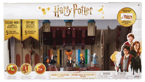 HARRY POTTER HOGWARTS GREAT HALL DLX MINI PLAYSET CS (Net) (